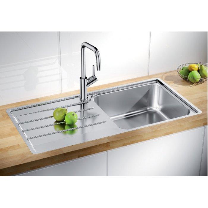 BLANCO LEMIS XL 6 S-IF rozsdamentes acél mosogatótálca csaplyuk nélkül