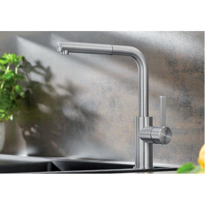 BLANCO LANORA-S rozsdamentes zuhanyfejes csaptelep
