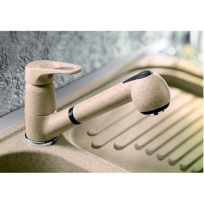 Kifutott BLANCO WEGA-S HD SILGRANIT zuhanyfejes csaptelep 10 féle színben