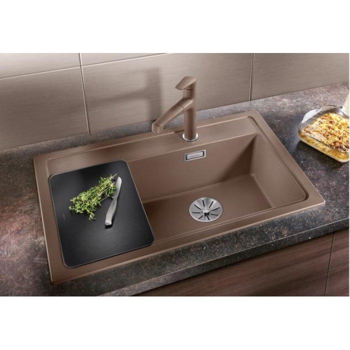 BLANCO ZENAR XL 6S C silgranit mosogatótálca 10 féle színben üveg vágódeszkával, jobbos