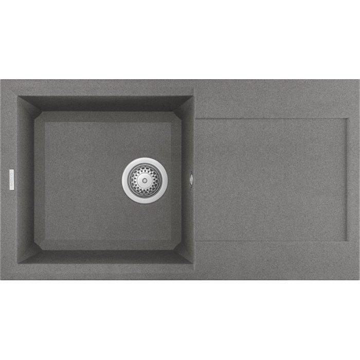 Elleci EASY 290 granitek mosogatótálca G48 cemento színben