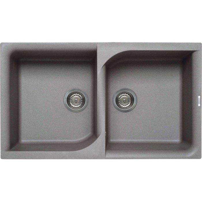 Elleci EGO 450 granitek mosogatótálca G48 cemento színben
