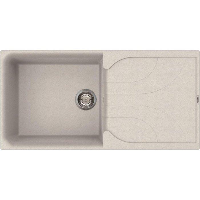 Elleci EGO 480 granitek mosogatótálca G52 bianco pietra színben