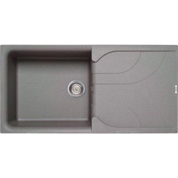 Elleci EGO 480 granitek mosogatótálca G48 cemento színben