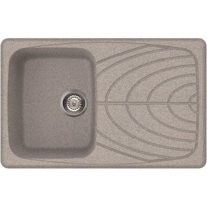 Elleci MASTER 300 granitek mosogatótálca grigio színben