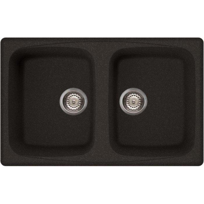 Elleci MASTER 350 granitek mosogatótálca G54 nero pietra színben