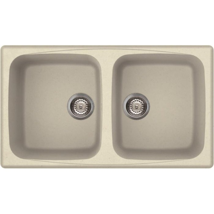 Elleci MASTER 450 granitek mosogatótálca G62 bianco antico színben