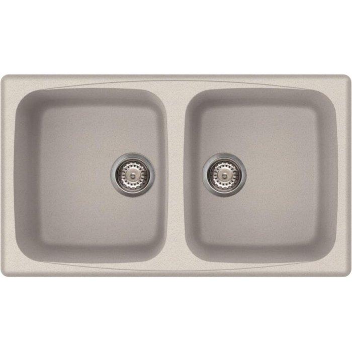 Elleci MASTER 450 granitek mosogatótálca G52 bianco pietra színben