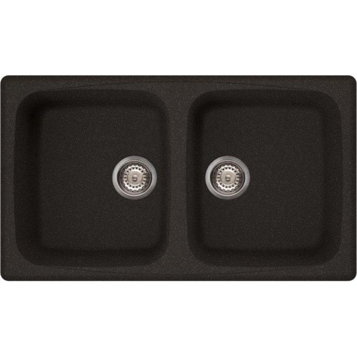 Elleci MASTER 450 granitek mosogatótálca G54 nero pietra színben