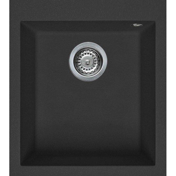 Elleci QUADRA 100 granitek mosogatótálca G54 nero pietra színben