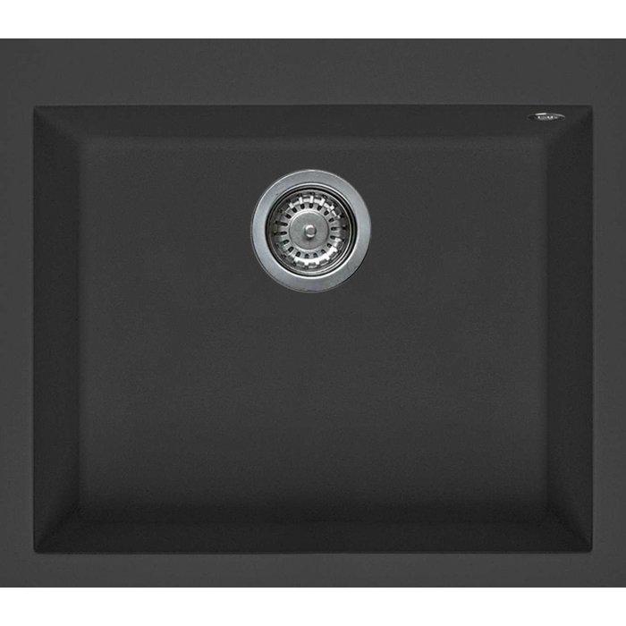 Elleci QUADRA 105 granitek mosogatótálca G59 antracite színben