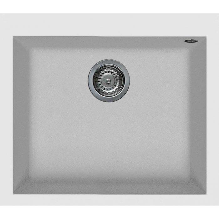 Elleci QUADRA 105 granitek mosogatótálca G68 bianco színben