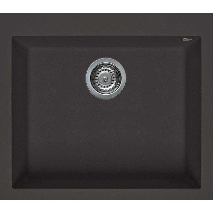 Elleci QUADRA 105 metaltek mosogatótálca M78 espresso színben