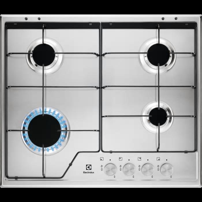 Electrolux KGS 6424 SX gáz főzőlap (KGS6424SX)