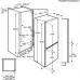 AEG SCE 81926 TS alulfagyasztós kombinált NoFrost hűtő (SCE81926TS)