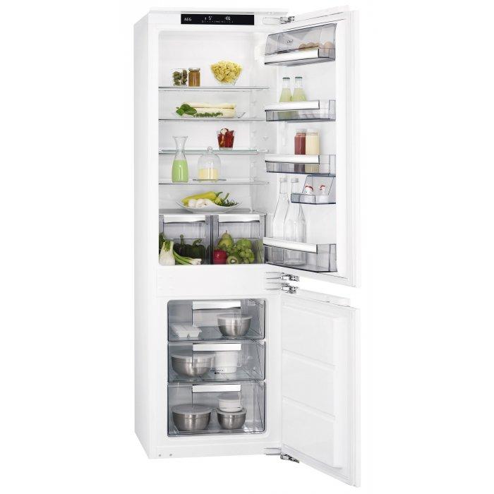 AEG SCE 81811 LC alulfagyasztós kombinált hűtő (SCE81811LC)