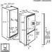 AEG SCE81816ZF 2 fiókos alulfagyasztós kombinált hűtő (SCE81816ZF)