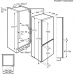Electrolux ENN 2852 ACW alulfagyasztós kombinált hűtő, No Frost, CustomFlex, 178 cm, A++ (ENN2852ACW)