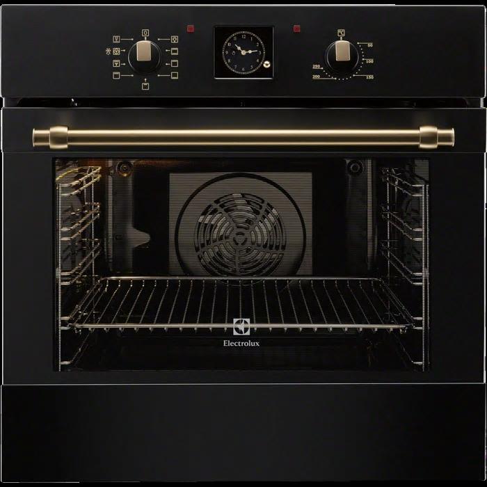 Electrolux EOB 3400 BOR fekete színű rusztikus beépíthető sütő (EOB3400BOR)