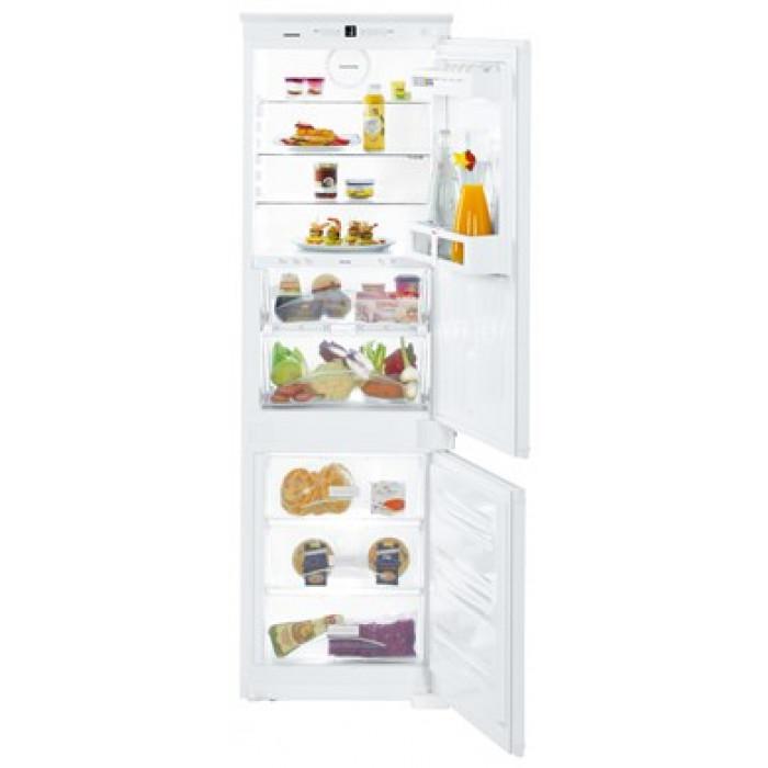 Liebherr ICBS 3324 alulfagyasztós kombinált beépíthető BioFresh hűtő (ICBS3324)