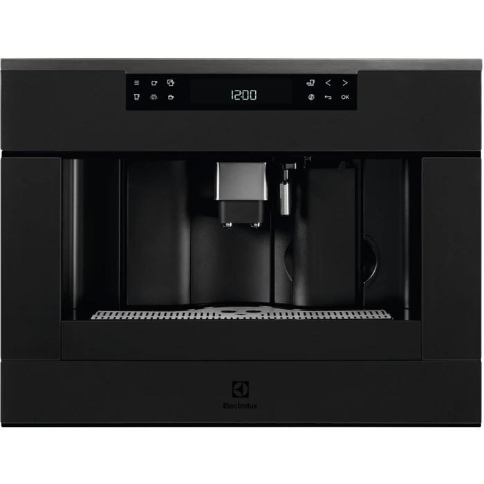 Electrolux KBC 65 T beépíthető matt fekete kávéfőző (KBC65T)