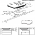 AEG IPE 74541 FB indukciós főzőlap (IPE74541FB)