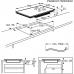 Electrolux EIV 835 indukciós főzőlap, 5 zónás, Hob2Hood, Bridge funkció, 80 cm (EIV835)