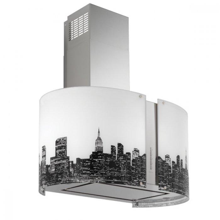 Falmec NEW YORK üveg MIRABILIA ROUND 67 fali páraelszívóhoz