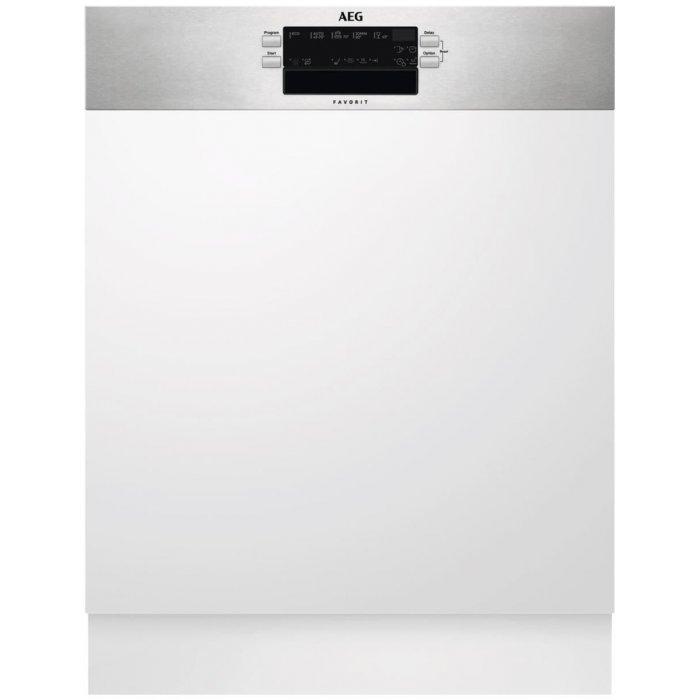 AEG FEB 52600 ZM kezelőpaneles beépíthető mosogatógép, 13 teríték, AirDry, 5 program, A++ (FEB52600ZM)