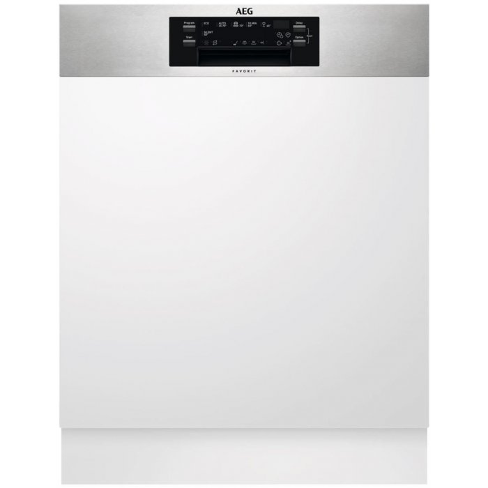 AEG FEE 62700 PM kezelőpaneles beépíthető mosogatógép, 15 teríték, AirDry, 6 program, A++ (FEE62700PM)