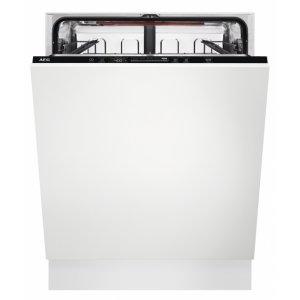 AEG FSB 52637 P teljesen beépíthető mosogatógép, QuickSelect kezelőpanel, AirDry, 13 teríték, LED kijelző (FSB52637P)