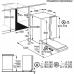 AEG FSE 63616 P teljesen beépíthető mosogatógép (FSE63616P)