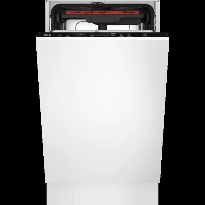 AEG FSE 72527 P teljesen beépíthető mosogatógép, QuickSelect kezelőpanel, AirDry, 10 teríték, LED kijelző (FSE72527P)