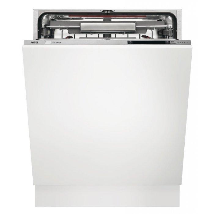Kifutott AEG FSK93800P teljesen beépíthető ComfortLift mosogatógép (FSK93800P)