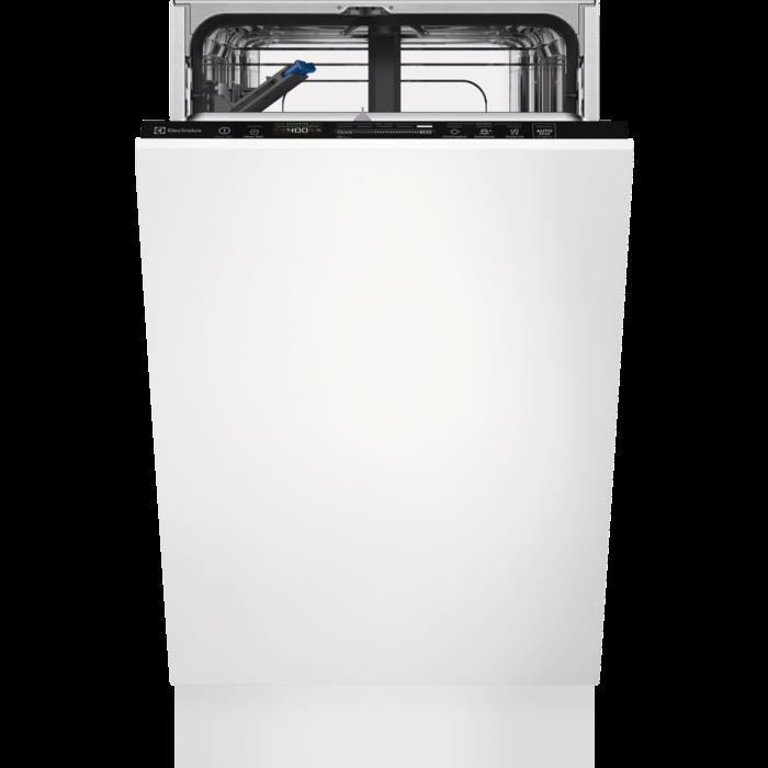 Electrolux EEG 62310 L beépíthető keskeny mosogatógép, 9 teríték, inverter motor, 8 program, A+++ (EEG62310L)