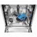 Electrolux ESI 4621 LOX kezelőpaneles 45cm széles beépíthető mosogatógép, 9 teríték, AirDry, 6 program, A++ (ESI4621LOX)