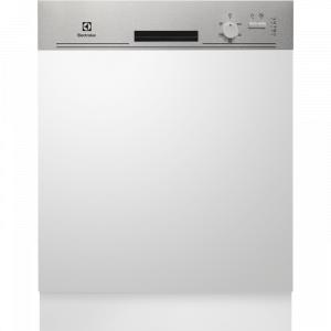 Electrolux ESI 5205 LOX kezelőpaneles beépíthető mosogatógép, 13 teríték, AirDry, 5 program, A+ AJÁNDÉKKAL (ESI5205LOX)