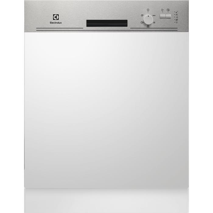 Electrolux ESI 5205 LOX kezelőpaneles beépíthető mosogatógép, 13 teríték, AirDry, 5 program, A+ (ESI5205LOX)