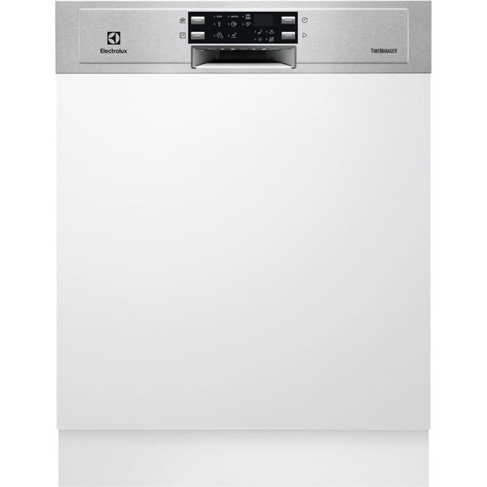 Electrolux ESI 5545 LOX kezelőpaneles beépíthető mosogatógép, 13 teríték, AirDry, 6 program, A+++ AJÁNDÉKKAL (ESI5545LOX)