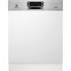 Electrolux ESI 5550 LOX kezelőpaneles beépíthető mosogatógép, 13 teríték, AirDry, 6 program, A+++ AJÁNDÉKKAL (ESI5550LOX)