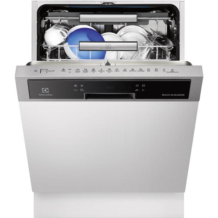 Electrolux ESI 8730 RAX kezelőpaneles beépíthető mosogatógép, 15 teríték, AirDry, 6 program, A+++ (ESI8730RAX)