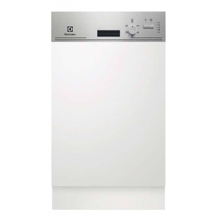 Electrolux ESI 4201 LOX kezelőpaneles beépíthető mosogatógép, 9 teríték, AirDry, 5 program, A+ AJÁNDÉKKAL (ESI4201LOX)
