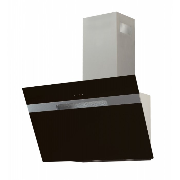 Cata Avlaki 600 XGBK fekete fali páraelszívó ajándék bekötőszettel
