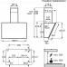 Electrolux KFVB 19 K kürtős páraelszívó, Breeze funkció, Hob2Hood, 3+2 fokozat, 90 cm (KFVB19K)