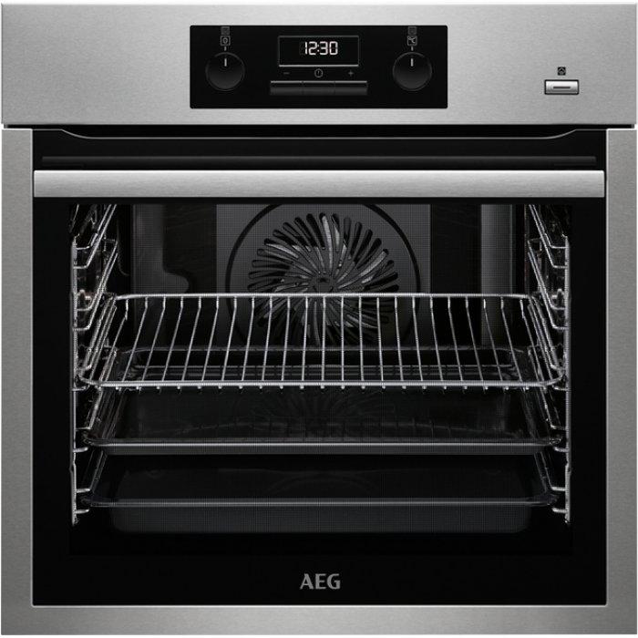 AEG BES 351110 M beépíthető PlusSteam multifunkciós sütő (BES351110M)