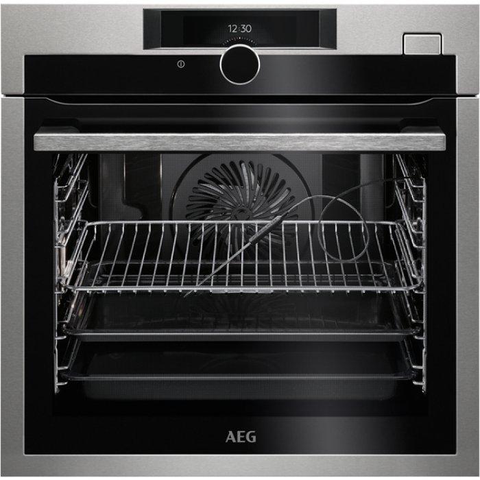 AEG BSE 882320 M beépíthető gőzsütő + ajándék szakácskönyv (BSE882320M)