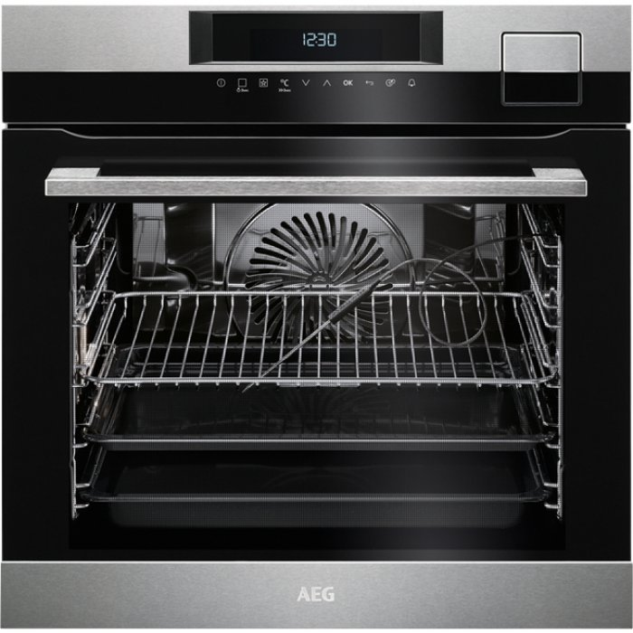 AEG BSK 792320 M beépíthető sous-vide gőzsütő maghőmérővel + ajándék szakácskönyv (BSK792320M)