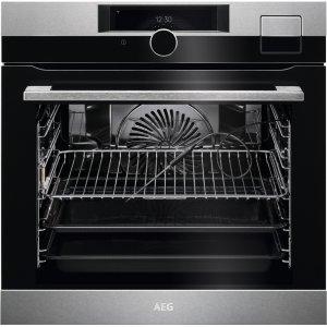 AEG BSK 999330 M beépíthető gőzsütő, SousVide, maghőmérő, TFT érintőkijelző + ajándék szakácskönyv (BSK999330M)