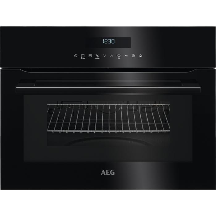 AEG KMR 721000 B beépíthető kompakt mikro és sütő egyben, fekete (KMR721000B)
