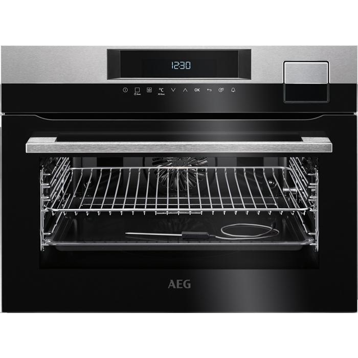 AEG KSK 792220 M beépíthető kompakt gőzsütő, SousVide, maghőmérő + ajándék szakácskönyv (KSK792220M)